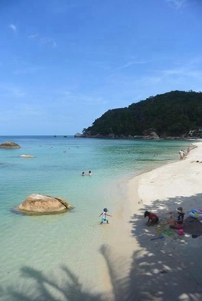 サムイ島のビーチ、クリスタルビーチ10