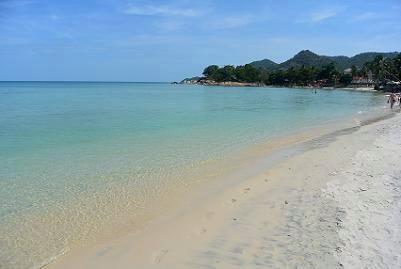 サムイ島のチャウエンビーチ南11