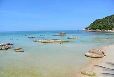 サムイ島のクリスタルビーチ01