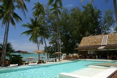 サムイ島チョンモンビーチのホテル2