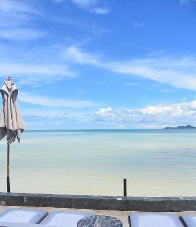 サムイ島 カーサ デ マールのビーチ20