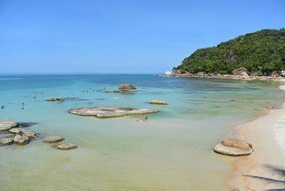 サムイ島のクリスタルビーチ02