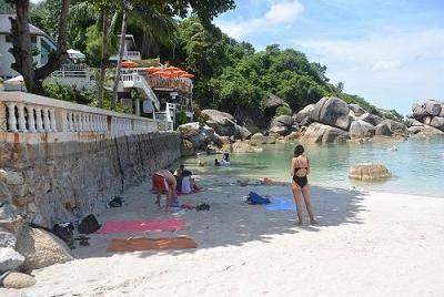 サムイ島のビーチ、クリスタルビーチ15