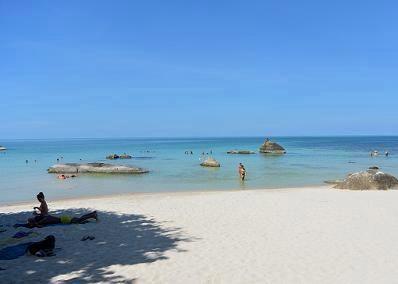 サムイ島のクリスタルビーチ17