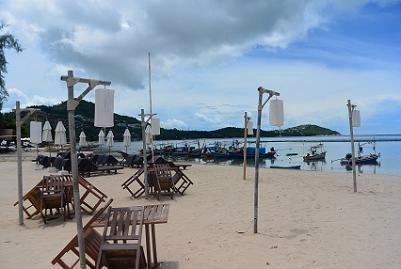 サムイ島のマトラン島周辺のビーチ7