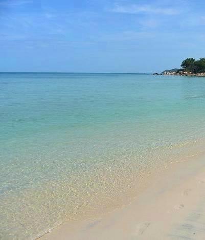 サムイ島のチャウエンビーチ南
