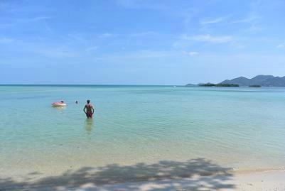 サムイ島のチャウエンビーチ北郊外07