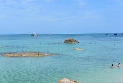 サムイ島のビーチ、クリスタルビーチ09