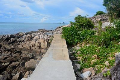 サムイ島トンソンベイのビーチ16