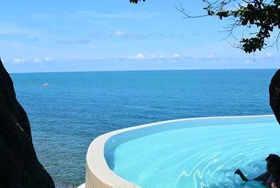 サムイ島シーラワディーのビーチ01