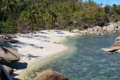 サムイ島シーラワディーのビーチ04