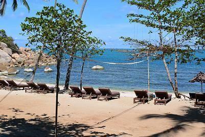 サムイ島シーラワディーのビーチ14