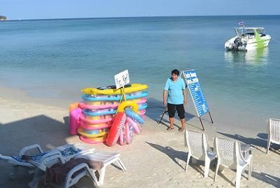 サムイ島のチャウエンビーチ10