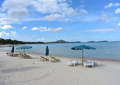 サムイ島ブーコ前のビーチ11