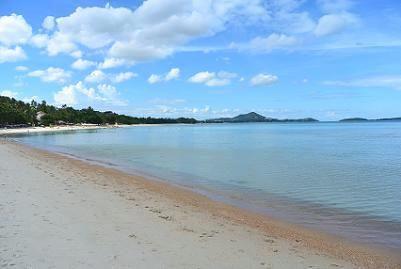 サムイ島ブーコ前のビーチ14