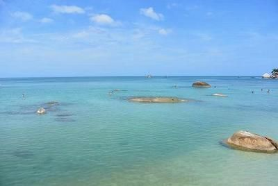 サムイ島のビーチ、クリスタルビーチ04