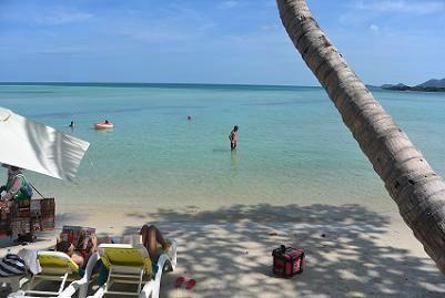 サムイ島のチャウエンビーチ北郊外05