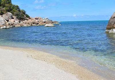 サムイ島シーラワディーのビーチ21