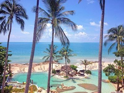 サムイ島チャウエンノイビーチのホテル4