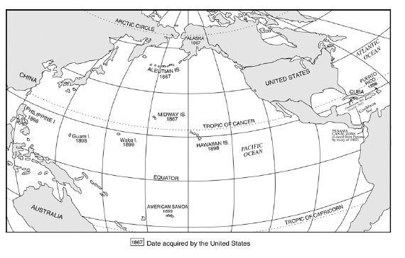 us pacific map