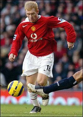 ポール・スコールズ : 海外の偉大なサッカー選手