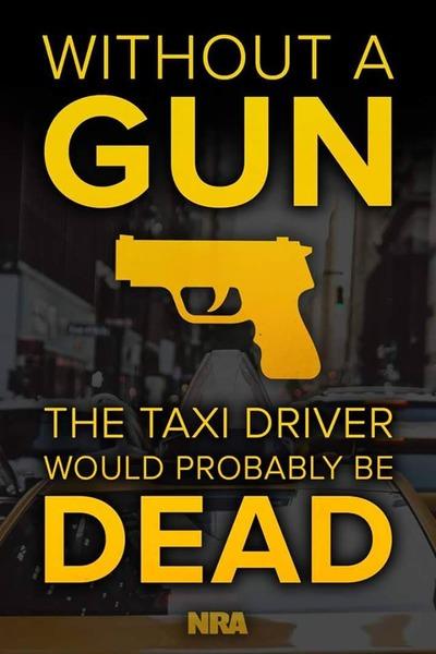 銃無ではタクシー運転手は死にかねない