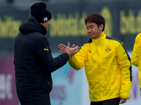 トゥヘル監督、代表戦から合流の香川を信頼「彼は経験豊富な選手」