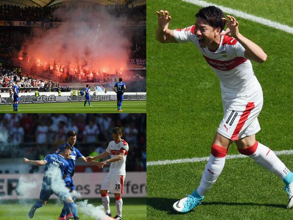 ダービーキラー浅野拓磨、熱すぎるサポに驚愕!「ドイツのサッカー文化を見せられた」