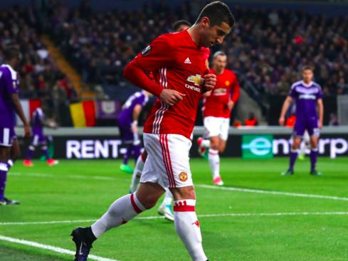 【UEFA-EL】マンU、試合終盤にアンデルレヒトに追いつかれドロー決着…<16/17 準々決勝1stレグ試合結果>