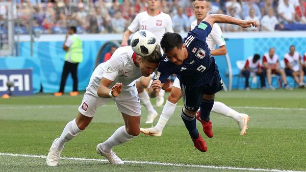 W杯2018日本対ポーランド戦