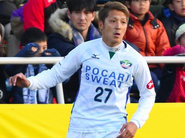 ボールボーイを小突いて一発退場の徳島・馬渡和彰、反省の弁。試合後にボールボーイに謝罪