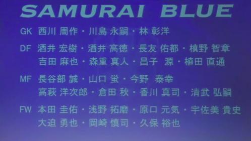 【W杯アジア最終予選】本日発表された日本代表メンバー!対するみんなの反応は!?