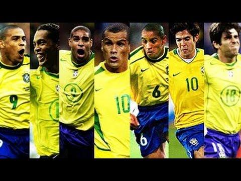 好きなブラジル人サッカー選手を想像して下さい…