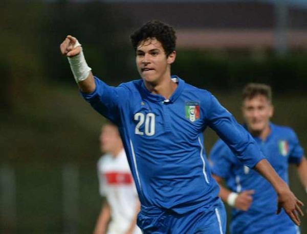 イタリア代表、若返りを狙う!?メンバーに17歳、19歳を選出!