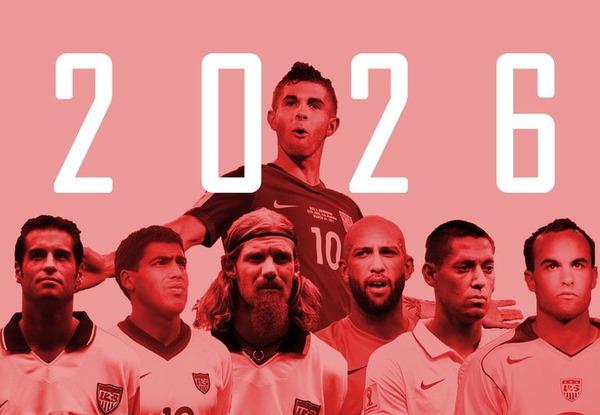 【2026年W杯招致】アメリカ・メキシコ・カナダの3カ国が共同開催で名乗り!共同声明を発表