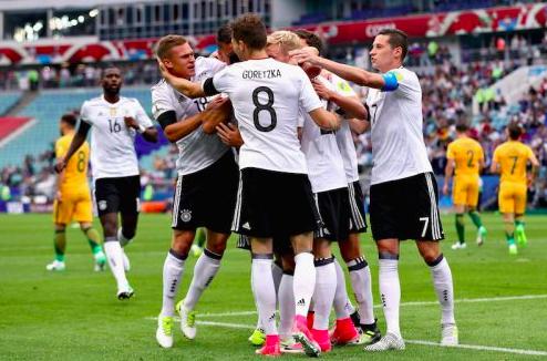 【動画】コンフェデ杯、オーストラリア世界王者に1点及ばず…若手ドイツが白星発進
