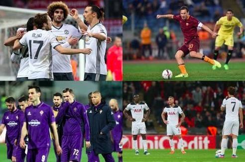 【UEFA/EL】マンU、ローマらが16強進出!久保裕也所属のヘント、2戦合計でトッテナム下す。瀬戸所属のアストラは敗退