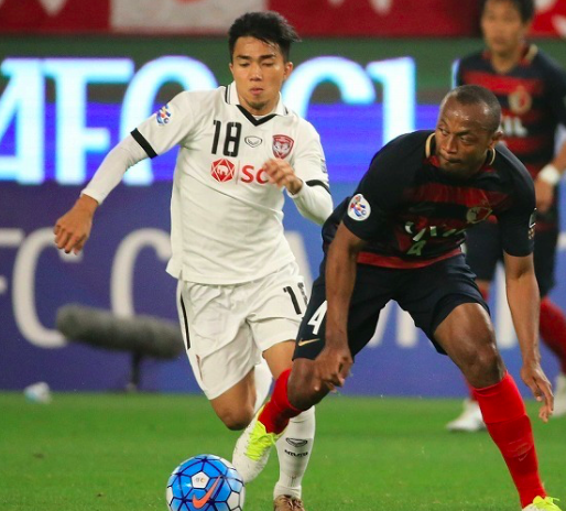 """【ACL】鹿島に敗れるもタイメディアは軒並みムアントンを称賛。""""タイのメッシ""""には「北海道でも上手くやっていける」"""