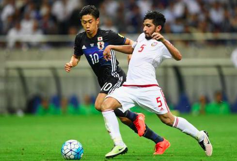 【UAE代表】過去日本戦で活躍のボランチが負傷離脱…2015年アジア杯でアシスト