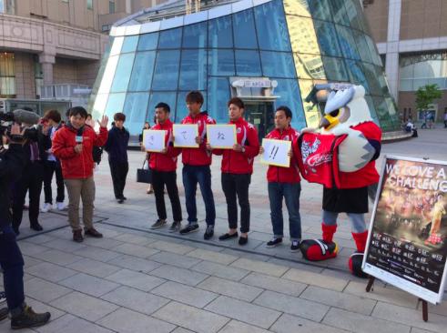【動画】どさんこワイドに出演した札幌・田中選手、メンタルつえええwww選手らが札幌駅でガンバ戦のビラ配り