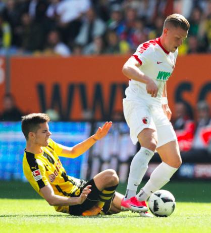 【悲報】ドルトムントMFヴァイグルが右足首骨折で3~4カ月間の離脱…DFBポカール優勝に向け暗雲