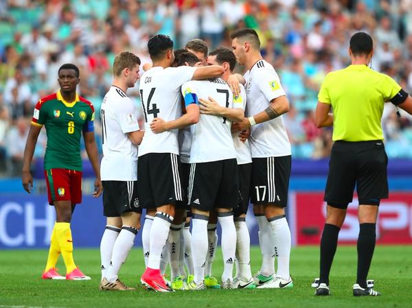 【コンフェデ杯】ドイツが10人のカメルーンに快勝、首位通過!オーストラリアは南米王者を追い詰めるもGL敗退