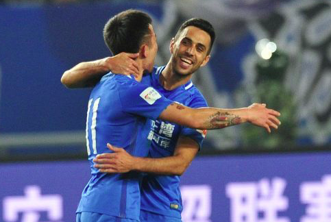 【爆買い】中国リーグ 得点ランクトップ10は、ほぼ外国人選手…中国人選手1名のみ