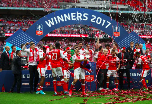 アーセナルが史上最多13回目のFAカップ制覇!ラムジー決勝弾でチェルシー撃破