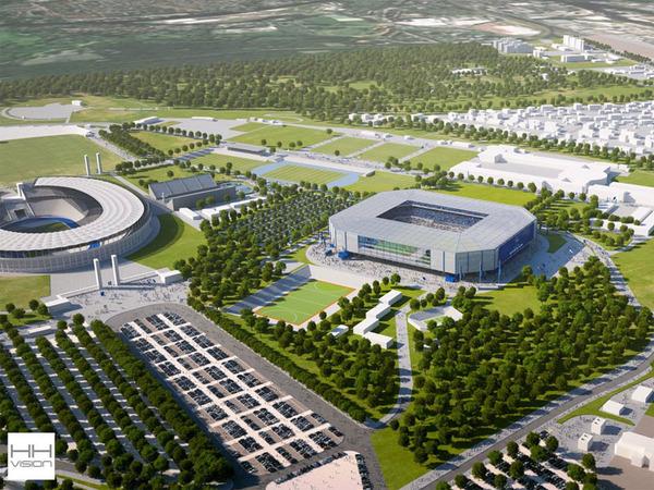 【動画アリ】原口所属のヘルタ・ベルリンが新スタジアムを建設する模様!