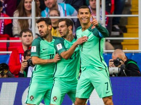 【動画】コンフェデ杯 クリロナが決勝弾!ポルトガル、ロシア破り初白星。メキシコがニュージーランドに逆転勝利で首位浮上