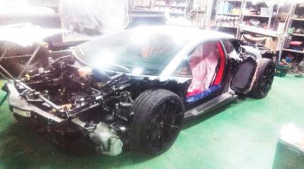 【ブログ報】GACKT、うっとり!大改造中の愛車をチラ見せ公開