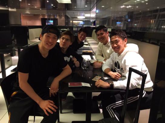 【画像】香川・原口・川島ら、ドイツ&フランス組が空港でパシャリ