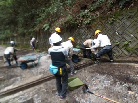 DSCF2211定例林道整備