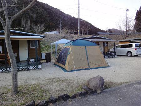 DSC04578 家を出る時は雨が降っていましたが次第に天気は回復。キャンプ場に着いた頃に...